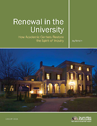 Renewal in the University