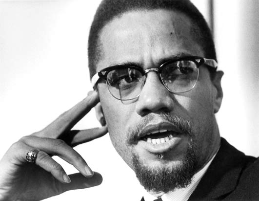 Malcolm X for lessons on Ferguson