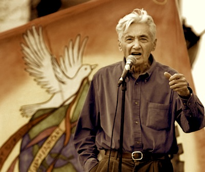 Howard Zinn, his spirit lives on